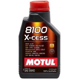 MOTUL 8100 X-cess 5W-40 - 1L