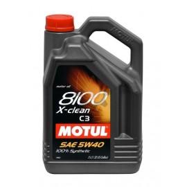 MOTUL 8100 X-clean C3 5W-40 - 5L